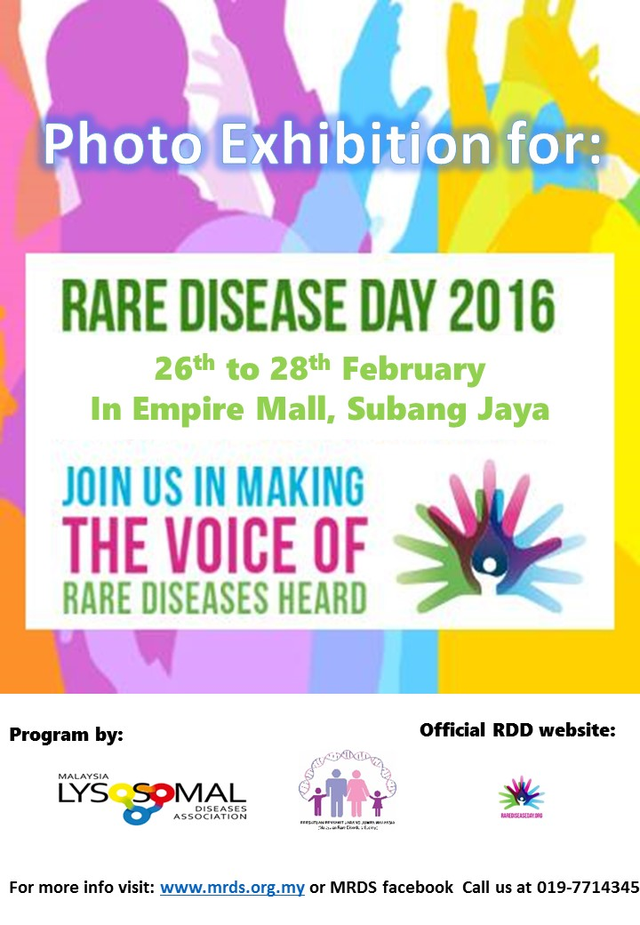 Rare Disease Day 2016 Photo Exhibition